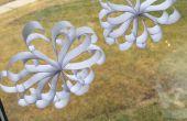Copos de nieve de papel 3D