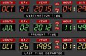 Al calendario de escritorio de futura