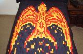 Fiery Phoenix Quilt