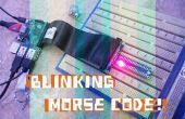 Parpadeo código Morse