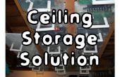 Solución de almacenamiento de techo