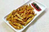Picante papas fritas