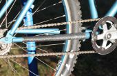 Cosida bicicleta Innertube Chainstay Protector