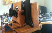 Construir una cámara de película de 120 vista con movimientos y botón de enfoque.