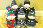 Muñecos de nieve Super Dooper calcetín!!!