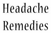 Cómo librarse de un dolor de cabeza