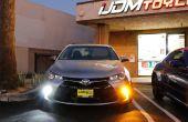 Cómo convertir Toyota Camry intermitentes a LED DRL