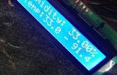 Menú de LCD con Senso