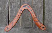 Preciso volver boomerang de madera