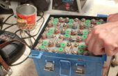 Reemplazo de baterías de NiCad aviones con nuevas pilas secas!