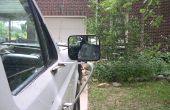 Ford F150 - F250 manual cromo espejo lateral, quitar un buen espejo de un eslabón giratorio roto
