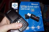 Mediante su Bluetooth activado Sony Ericsson teléfono a su computadora de Control