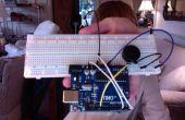 Código Morse con táctil capacitiva!