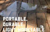 Portable, Durable, mesa de luz