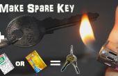 Hacer emergencia casera repuesto llave con TicTac botella o tarjeta de crédito en 2 minutos