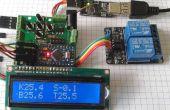 Controlador de colector solar de agua caliente con termostato v1.2