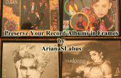 Mostrar tus álbumes de registro en marcos