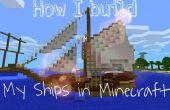 Cómo construyo mis naves en Minecraft