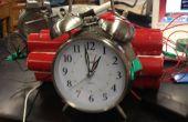 ¿Reloj despertador de la dinamita