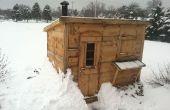 Madera quema Sauna DIY