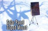 Panel solar de trípode