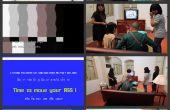 Historia de la TV - arte interactivo por Tuang