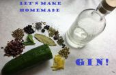 Vamos a hacer (estilo de Hendrick) Gin!!!!