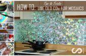 Cómo: Usar CDs viejos para mosaico manualidades - bricolaje cocina Backsplash consejos y trucos