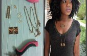 DIY Tutorial de collar leopardo Print Plaza