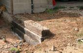 Cómo construir un muro de contención del lazo del ferrocarril
