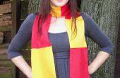 Coser una bufanda de Gryffindor!
