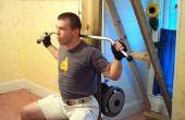 Cable máquina de ejercicio