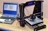Impresora 3D de la Prusa I3 de Migbot - montaje y uso