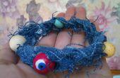 Abalorios pulsera de verano del dril de algodón
