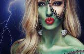 Novia de Frankenstein - Tutorial de maquillaje SFX