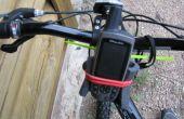 Soporte de bicicleta GPS casero