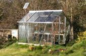 Automático Solar Powered invernadero sistema de riego