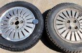 Limpieza de aleación ruedas con horno limpiador