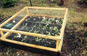 Alambre de pollo con bisagras caja invernadero para jardín - fotos 04/10/13