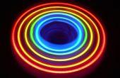 Cómo construir esta increíble giro de rueda de luz arco iris!!!!!!