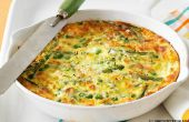 Receta de Frittata vegetal adaptable a verduras que siempre están en temporada