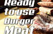 Cómo hacer listo para usar carnes de hamburguesa