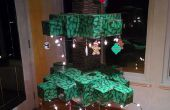 Árbol de Navidad Minecraft