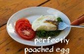No huevo escalfado perfecto fuss!