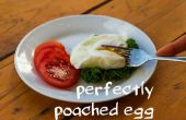 Huevo escalfado perfecto fuss!