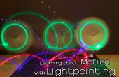 Aprendiendo sobre movimiento con Light Painting