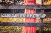 Como hacer filtros de Instagram en Photoshop