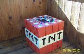 Cartón de Minecraft de TNT