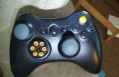 Mod de controlador de Xbox 360 con PS3 meter cojines y reubicado botones