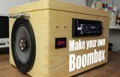 Hacer tu propio Boombox